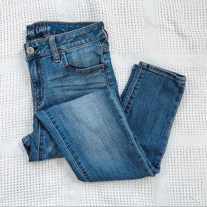 AMERICAN EAGLE   Skinny Medium Wash Denim Jeans 10